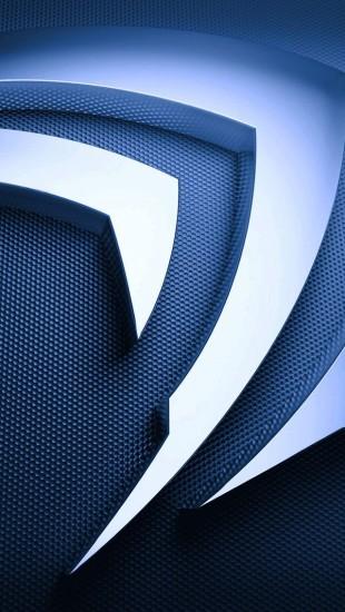 3D Metal Nvidia Logo