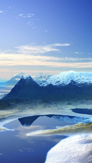 3D Mountain Scenery