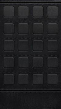 Black Leather Frames