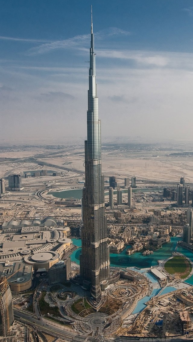 dubai tall tower the iphone wallpapers