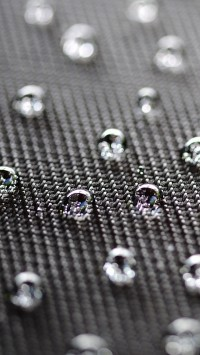 Water Drops And Texture