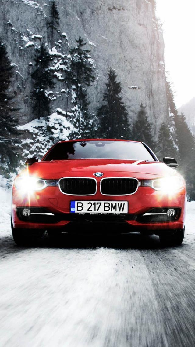 The Iphone Wallpapers 2012 Bmw F30 320d
