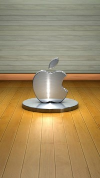 3D Metal Apple