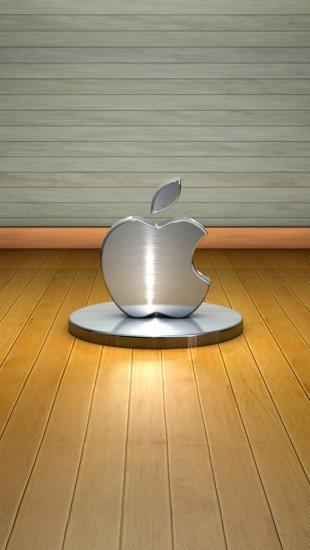 3D Metal Apple
