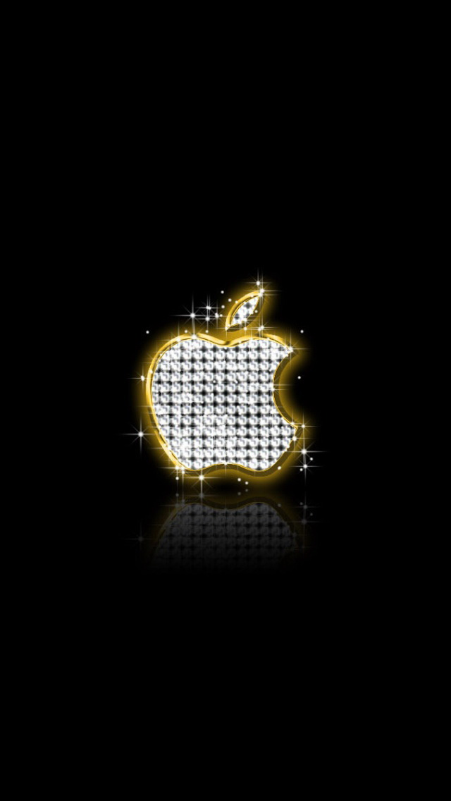 The Iphone Wallpapers Apple Diamond