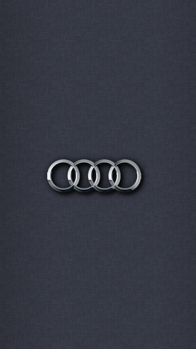 Audi logo wallpaper iphone 7
