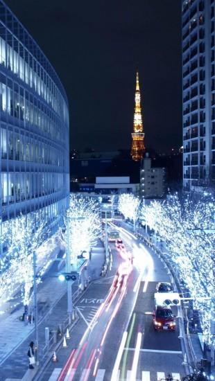 Blue Lights In Tokyo