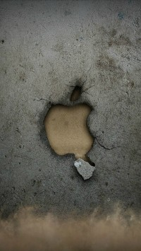 Broken Apple Wall