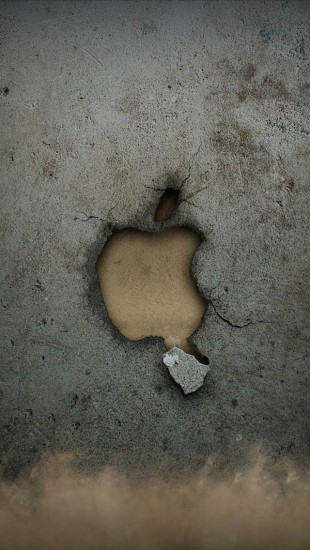 Broken Apple Wall