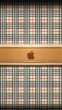 Burberry Apple Logo