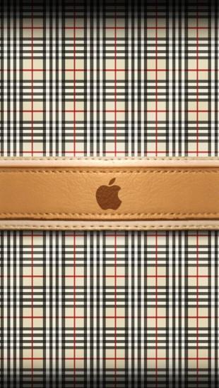 Burberry Apple Logo