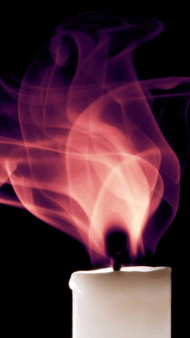 The Iphone Wallpapers Candle Flame