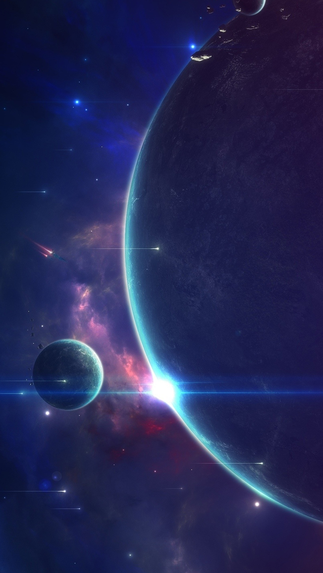 for solar system iphone wallpaper - photo #25