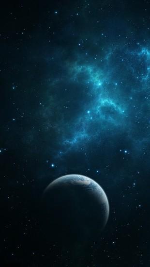 Dark Blue Space
