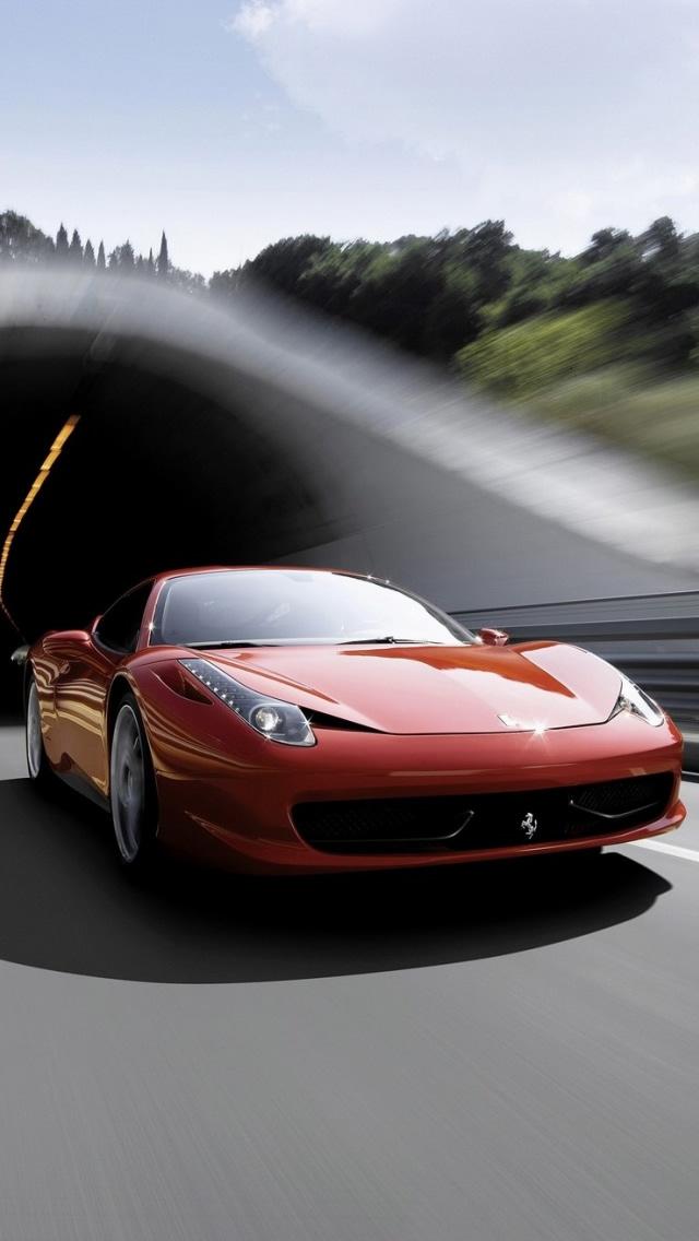 Ferrari 458 Italia - The iPhone Wallpapers
