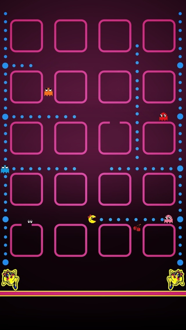 pacman the iphone wallpapers