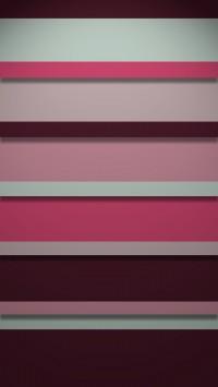 Pink Stripy Shelves