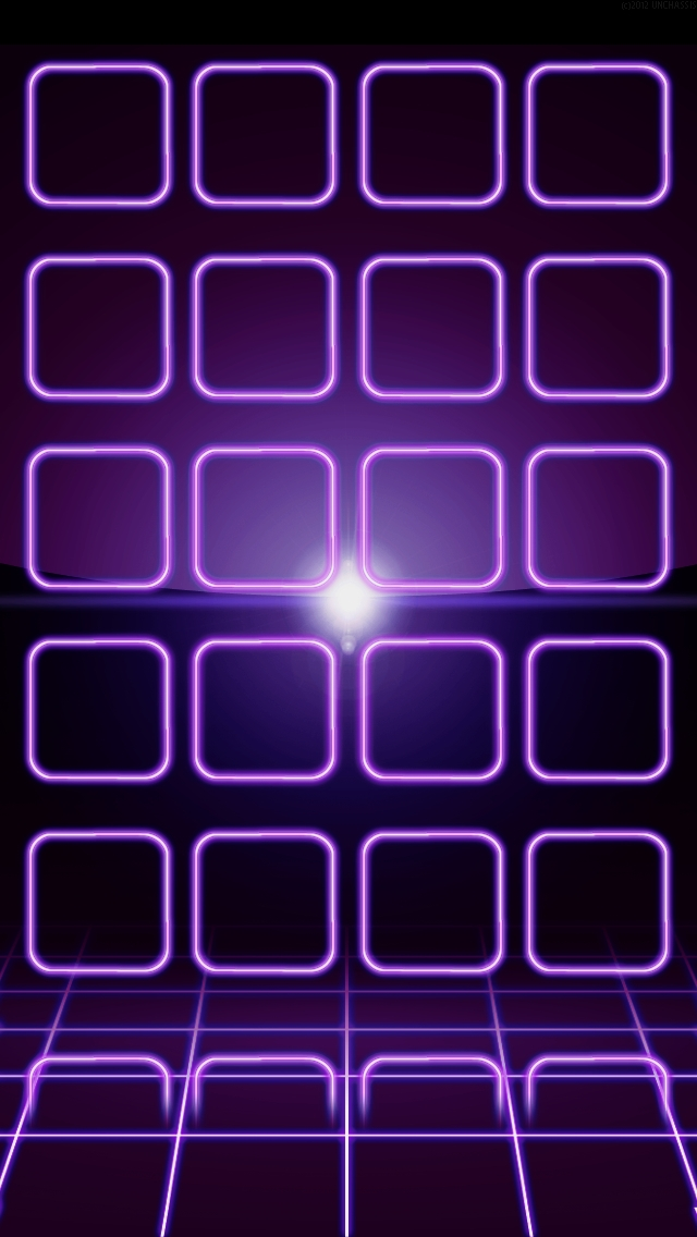 Purple and Neon Green Backgrounds