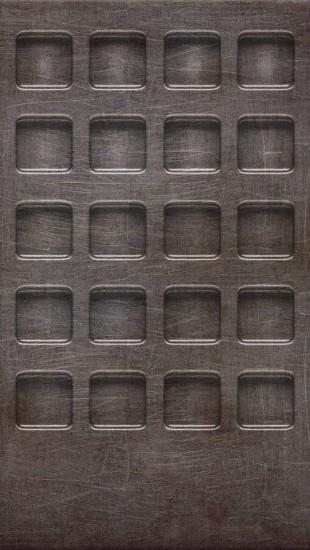Scratched Steel Frames