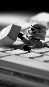 Star Wars Lego On Keyboard