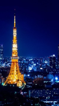 Tokyo Tower Night Japan
