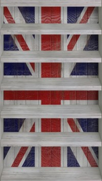 Union Jack Shelves