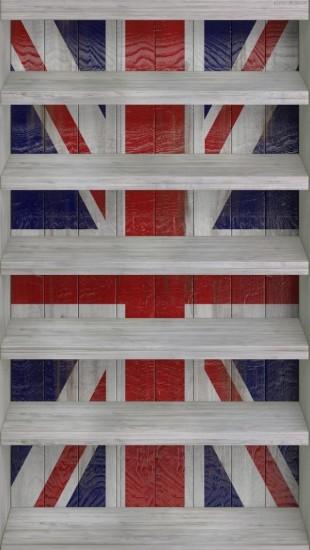 Union Jack Shelves