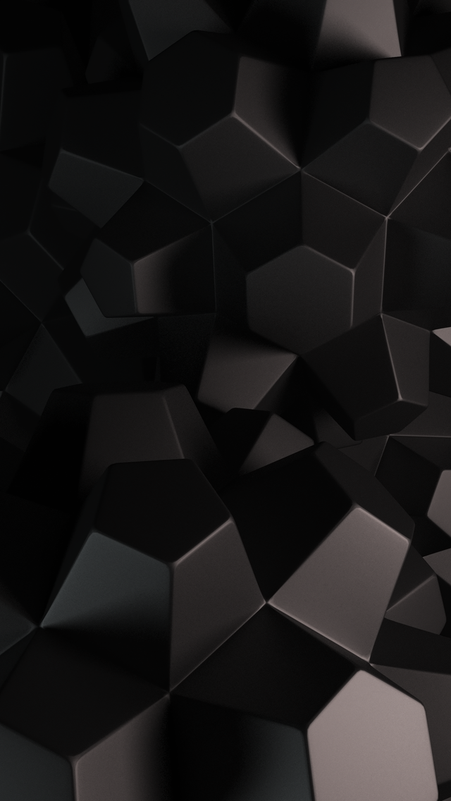 The iPhone Wallpapers » 3D Cube