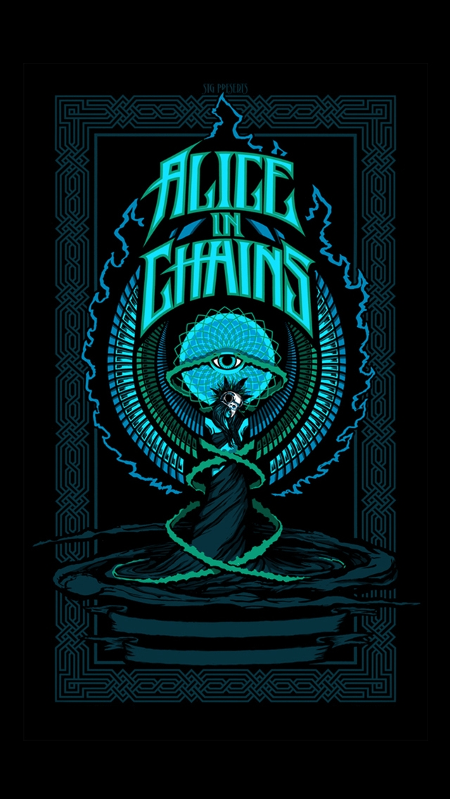 alice in chains the iphone wallpapers