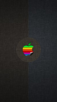 Apple Logo Colorful
