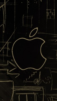 Apple Sketch Logo