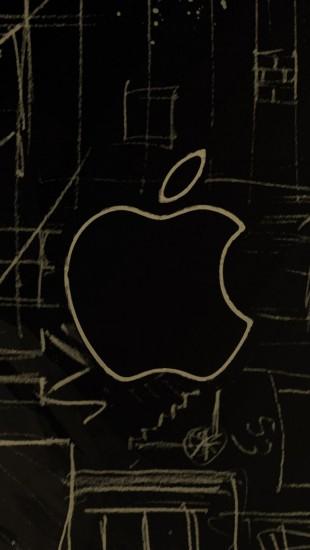 Apple Sketch Logo