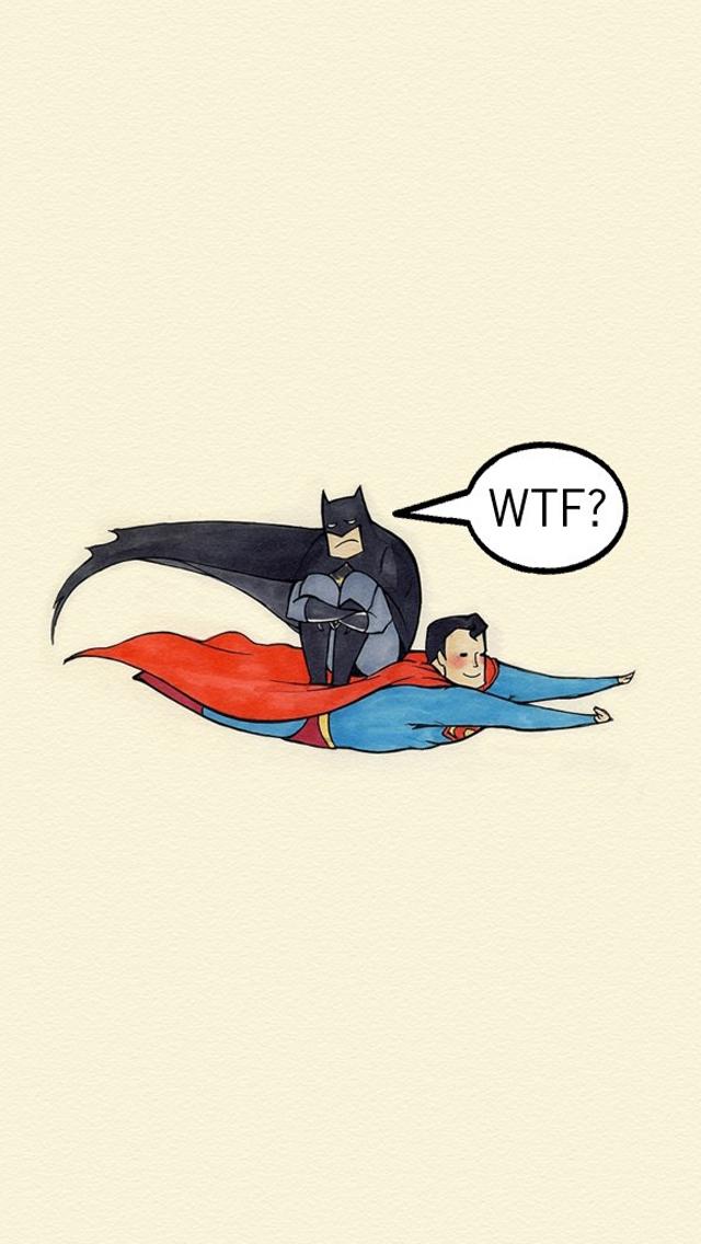batman and superman cartoon wallpaper - photo #26