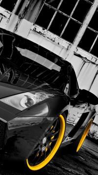 Black Lamborghini Forged