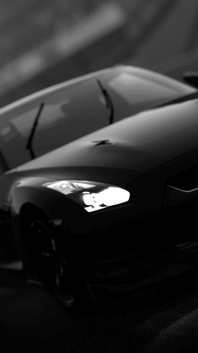 black nissan gtr the iphone wallpapers