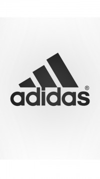 Black White Adidas Logo
