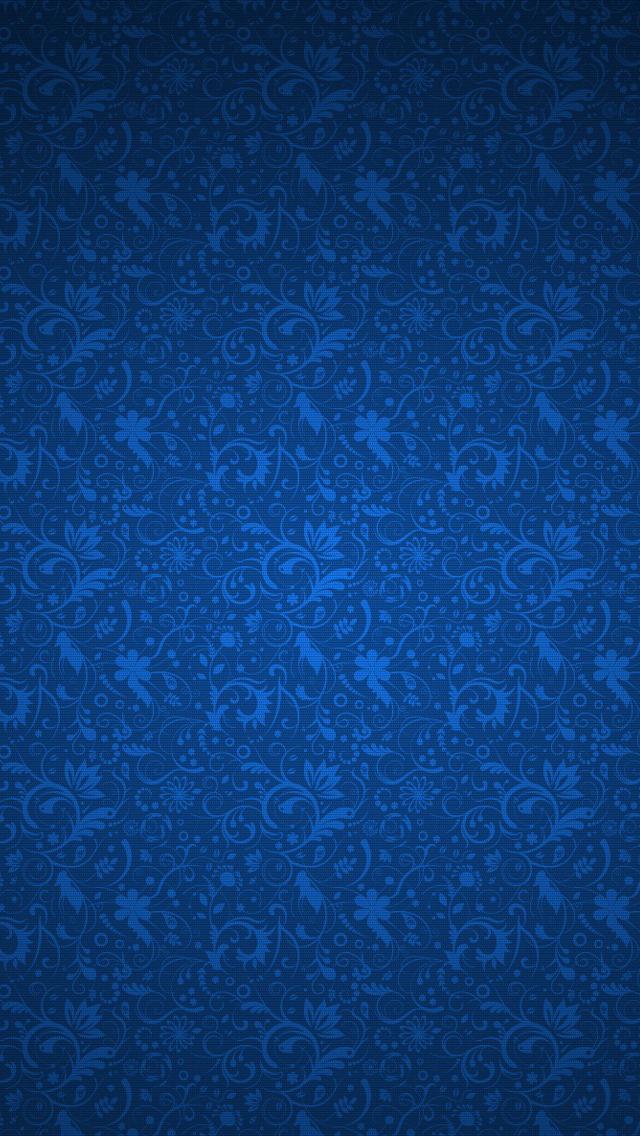 Blue Abstract Art Wallpaper