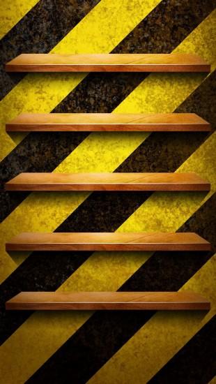Bookshelves Zebra Crossing