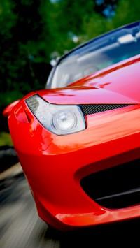 Ferrari 458 Italia Headstock