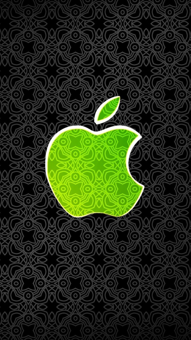 apple more search green apple logo iphone wallpaper tags apple greenGreen Apple Logo