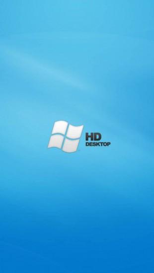 HD Blue Desktop Vista