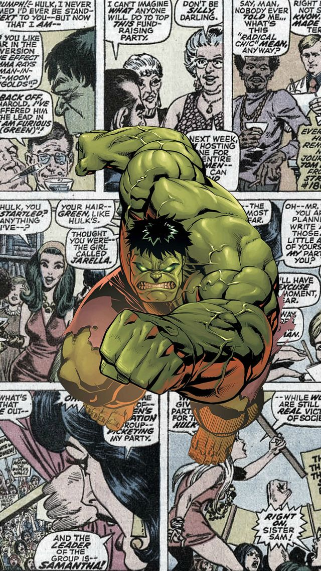 hulk comics the iphone wallpapers