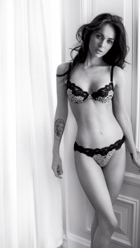 Megan Fox Lingerie Tattoo