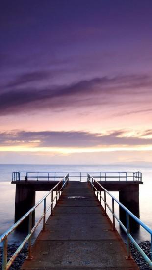 Old Pier Sunset