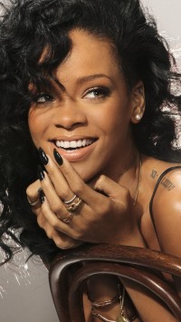Rihanna Laughing
