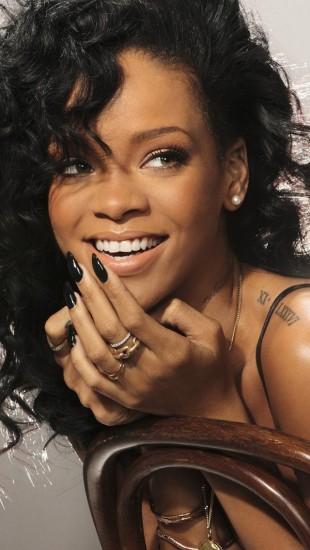 Rihanna Laughing