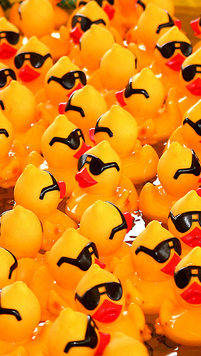 Rubber Ducks The Iphone Wallpapers