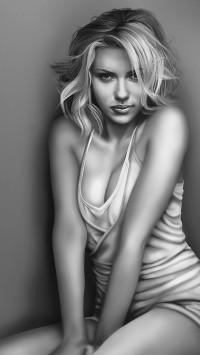 Scarlett Johansson Sketch