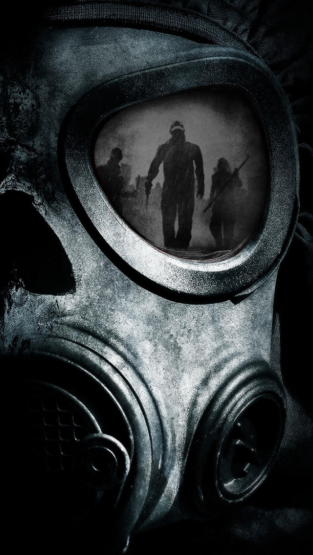 ... skull gas mask iphone wallpaper tags crazies dark gas mask skull