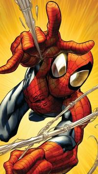 Spiderman Attack Illustration